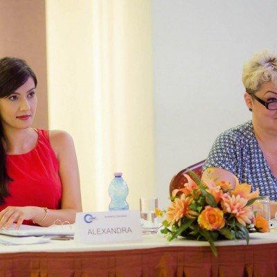 Alexandra Badoi, Adriana Branescu